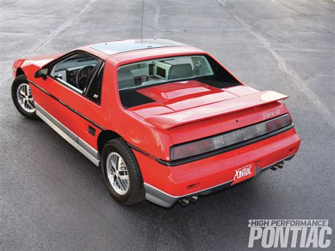 how to fix cars 1985 pontiac fiero free book repair manuals 1985 pontiac fiero gt back from obscurity high performance pontiac hot rod network