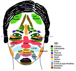 Chinese face map acne www imgarcade com online image