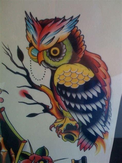 Tattoo Flash Owl | owl tattoo flash art tattoo concepts that i would love