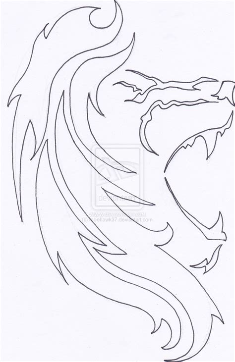 lion outline tattoo outline by moehawk37 on deviantart
