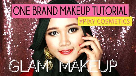 tutorial eyeliner pixy one brand makeup tutorial pixy cosmetics glam makeup