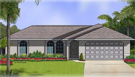 3 bedroom 2 bath 2 car garage floor plans the bayshore home plan 4 bedroom 2 bath 2 car garage