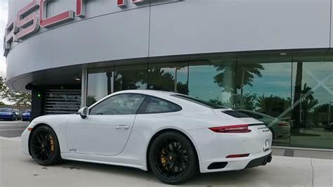 porsche 911 gts white 2017 carrara white porsche 911 gts 450 hp