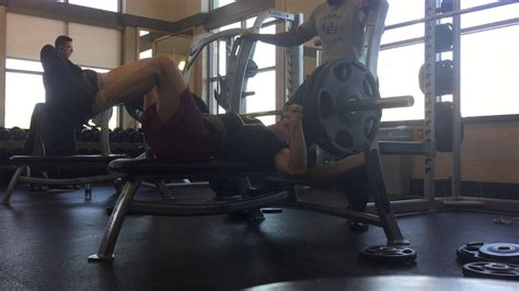 bench press feet up 225 3 bench press with feet up youtube