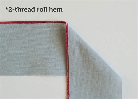 Hem Manvy different serger stitches and how to use them