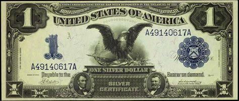 1 dollar black eagle 1899 one dollar silver certificate black eagle world