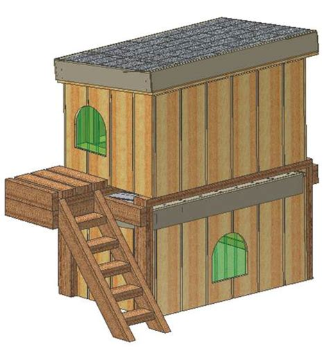 Insulated Dog House Plans 15 Total Double Decker Dog House Plans 2 Story Cd