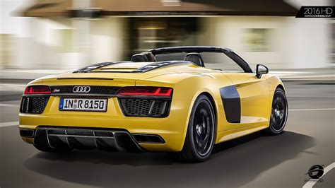 Audi R8 Auspuff by Yellow 2017 Audi R8 Spyder V10 Exhaust Sound