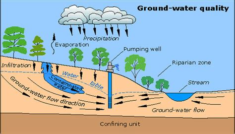 groundwater diagram diagrams of water pollution diagram of water mold