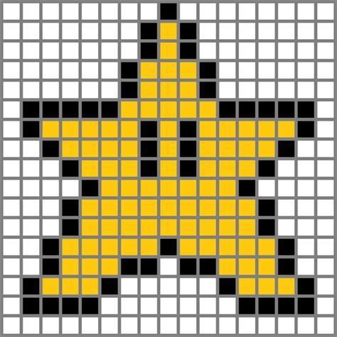 Bit mario star grid image galleries imagekb com