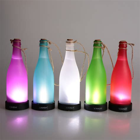 Outdoor Creative led string Cork Wine Bottle Sensor LED