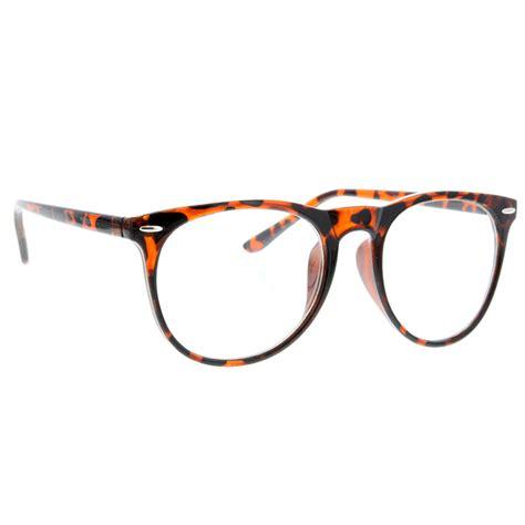 vintage clear wayfarer style bottom sunglasses