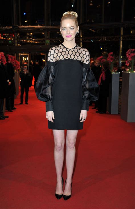 2013 film with emma stone emma stone in gucci at quot the croods quot premiere at the 63rd