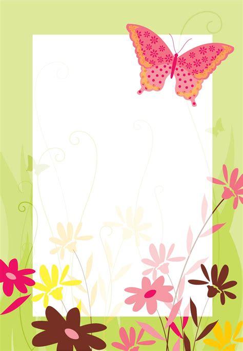 imagenes de invitaciones mariposas invitaciones de flores y mariposa para imprimir 日本人紙の手紙