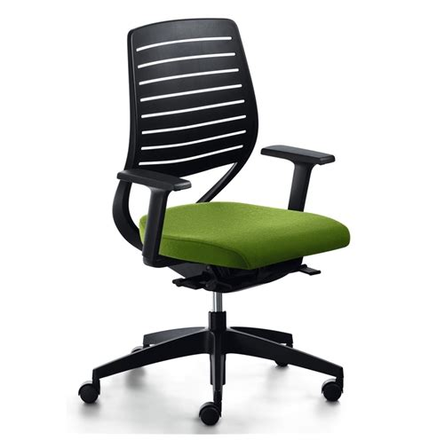Plastic Office Chair sedus match office chair plastic backrest