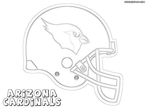 nfl cardinals coloring pages nfl coloring pages to print printable football helmet