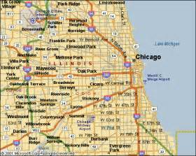 Suburbs Of Chicago Map by Maps Of Chicago Local Map Of The City Of Chicago