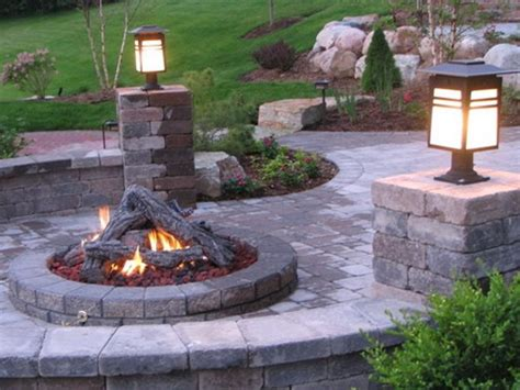Outdoor Fireplace Patio Designs The Great Ideas You Can Opt For Well Designed Backyard Pits Home Design Gallery