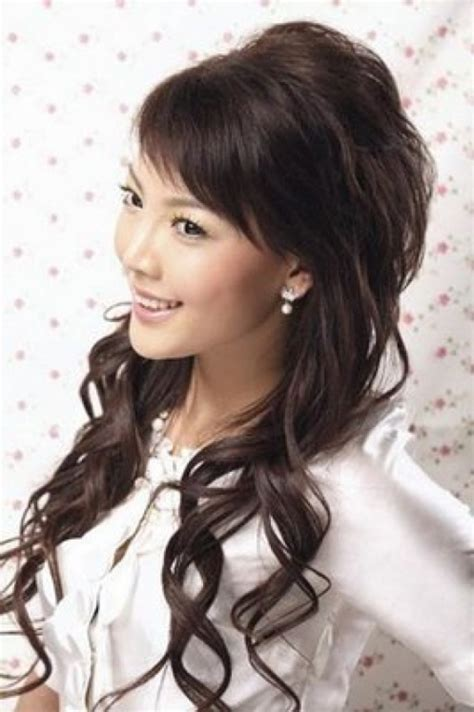 kawaii hairstyles for long hair cute hairstyles for long hair for prom