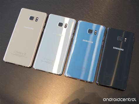 The Color For Galaxy Note 3 4 what color galaxy note 7 should you get black blue coral