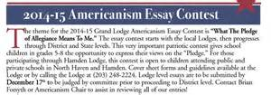 Elks Usa Americanism Essay Contest by Americanism Essay Contest