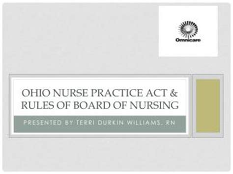 Ohio Nursing Laws For Detox Facility by Ppt The Nevada Practice Act And Delegation