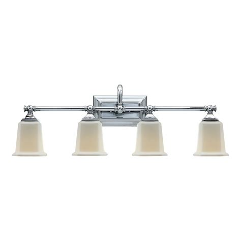 Quoizel Vanity Light Shop Quoizel Nicholas 4 Light 10 In Polished Chrome Bell