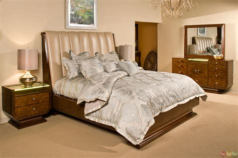 michael bedroom set michael amini cloche traditional bourbon bedroom set by aico