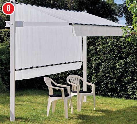 tenda sole fai da te tenda da sole a scomparsa come costruirla in 32 passaggi