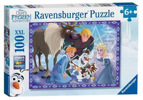 Jigsaw Puzzle Frozen Olaf 100pcs disney frozen olaf s adventures xxl100 jigsaw puzzle ra10730 august 2017 new release