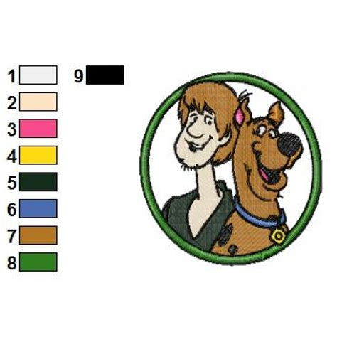 Scooby Doo 05 scooby doo 05 embroidery design