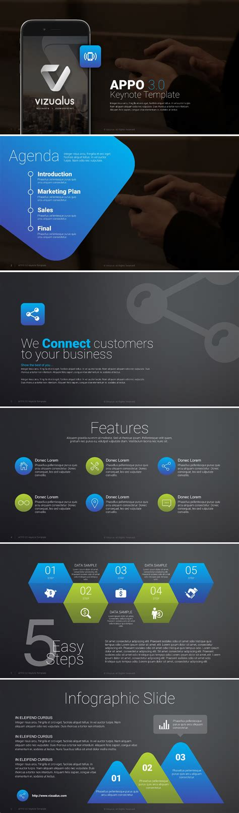 free keynote templates for business free appo 3 0 keynote template graphicsfuel