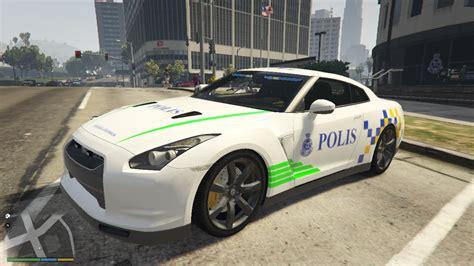 nissan malaysia malaysia police pdrm nissan gtr gta5 mods com
