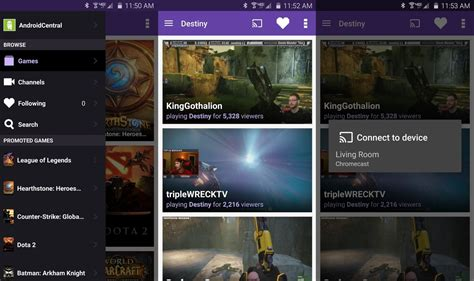 twitch android getting to twitch for android android central
