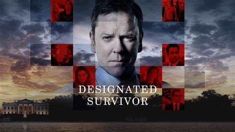 designated survivor poster designated survivor political drama television series