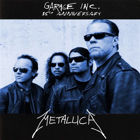 metallica garage inc metallica garage inc 15th anniversary by 1992zepeda on