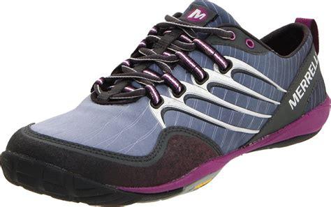 glove running shoes merrell barefoot lithe glove trail running shoe top