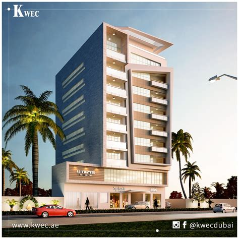 modern building design luxury commercial and residential building in muraqqabat