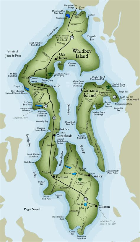 map of whidbey island about whidbey island whidbey island real estate