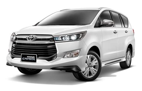 Bodykit All New Innova 2016 Crysta Thailand Style toyota innova crysta launched with a bodykit in thailand
