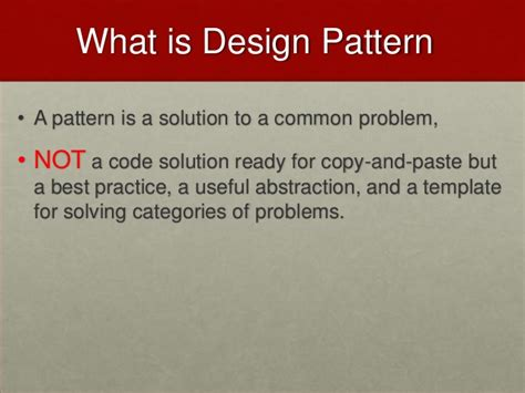 design pattern video lectures design pattern lecture 2