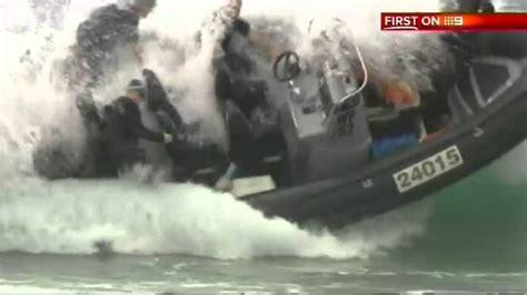 police fail boat overturns during sea rescue in australia - Rib Boat Accident