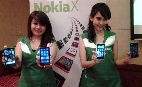 Hp Nokia X Di Medan nokia luncurkan ponsel android quot nokia x quot
