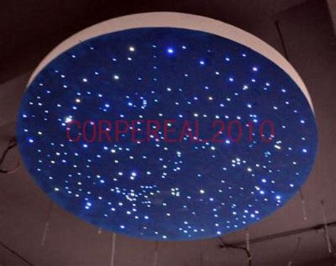 Neon Ceiling Lights Diy Multi Color Led L Fiber Optic Lighting 150 Strand Ceiling Light Kit Ebay