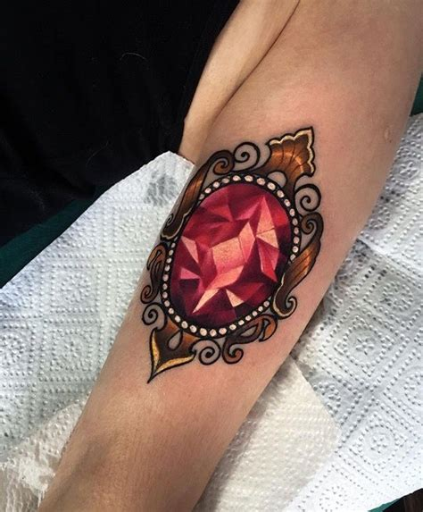 jewel tattoos 87 best ink images on ideas