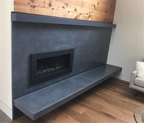 Cement Fireplace Surround by Concrete Fireplace Surrounds Unique And Modern 5