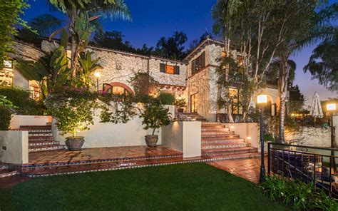hollywood mansions inside melanie griffith s newly rented hollywood hills