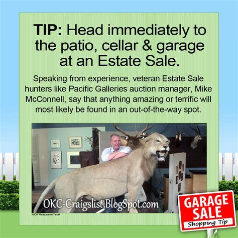 Garage Sale Finder Craigslist Estate Sale Tip Search These 3 Rooms Craigslist