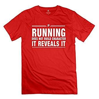 design t shirt amazon amazon com mksd funny running character design t shirt