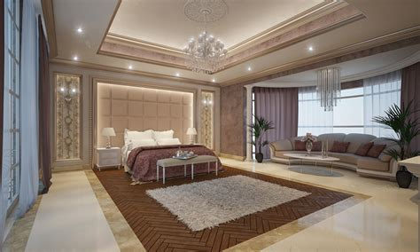 Grand Master Bedroom On Behance Grand Bedroom Designs